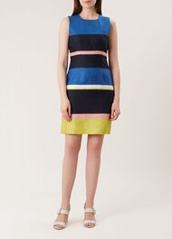 Ives Linen Dress, Multi, hi-res