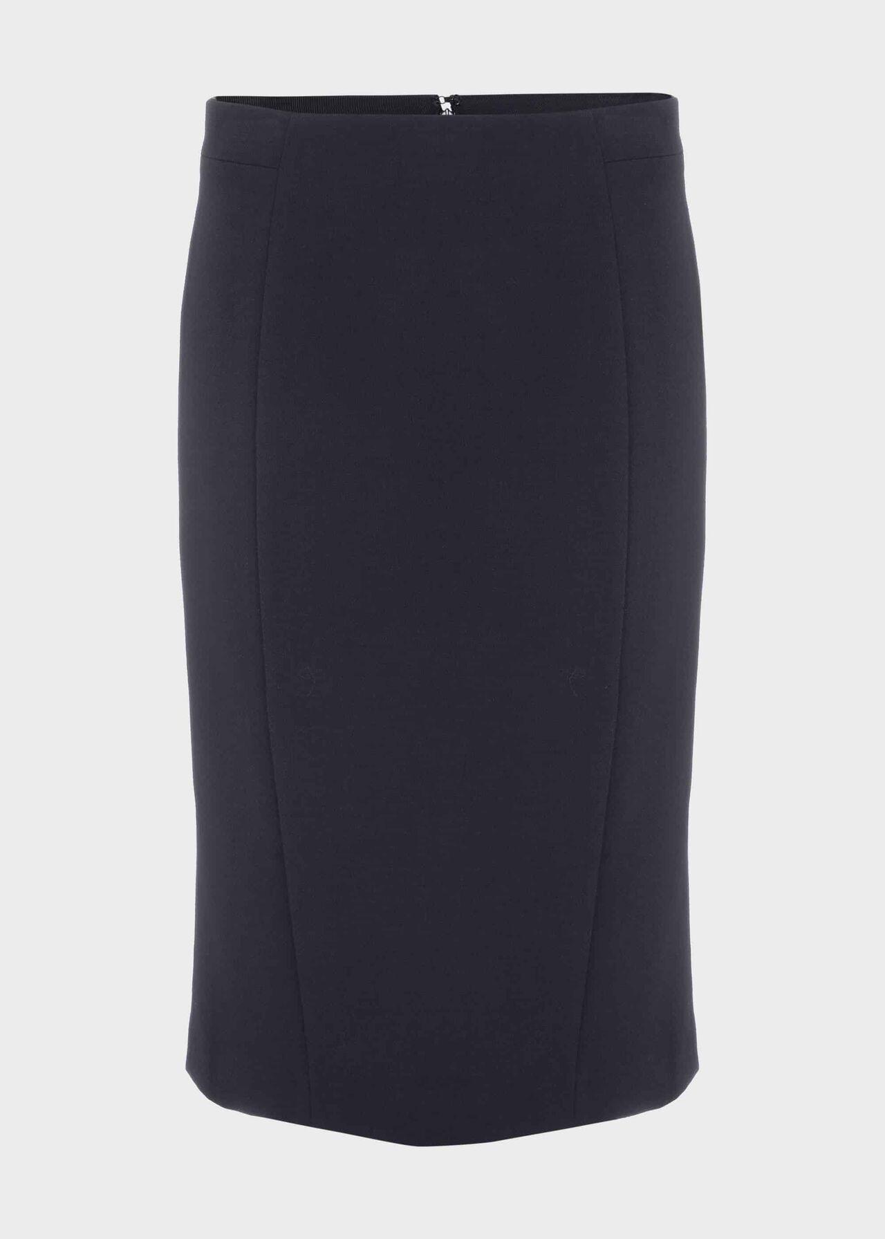 Leila Pencil Skirt Navy