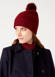 Eva Hat, Mulberry, hi-res