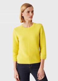 Jade Sweater, Yellow, hi-res