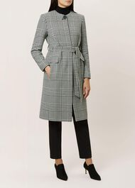 Samira Coat, Black Ivory, hi-res