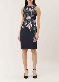 Moira Dress, Midnight Multi, hi-res