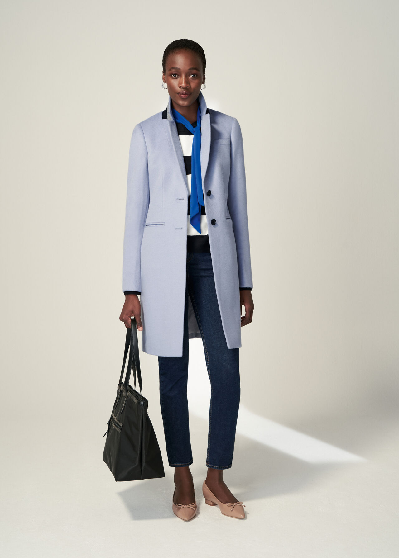 The Pale Blue Tilda Coat Outfit, , hi-res