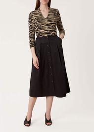 Celina Skirt, Black, hi-res