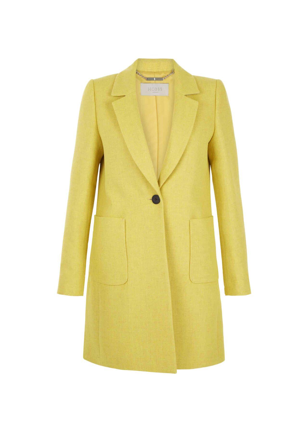 Camellia Coat Yellow