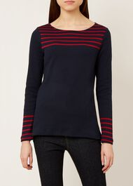 Constance Breton, Navy Red, hi-res