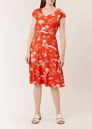 Matilda Dress, Mango White, hi-res