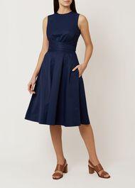 Twitchill Dress, Navy, hi-res