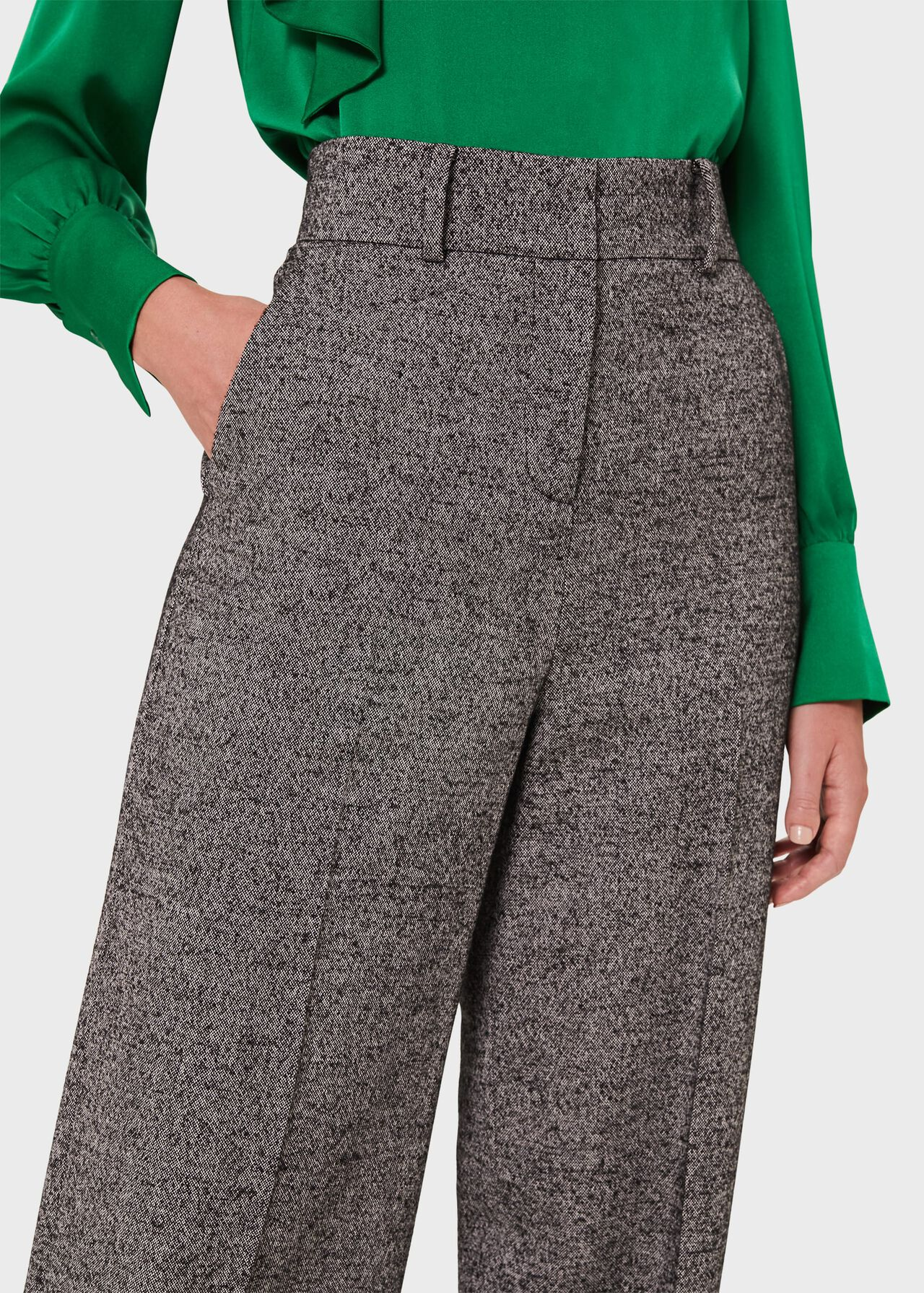 Ida Trouser, Black Ivory, hi-res