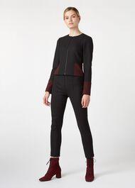 Corrine Jacket, Black Bordeaux, hi-res