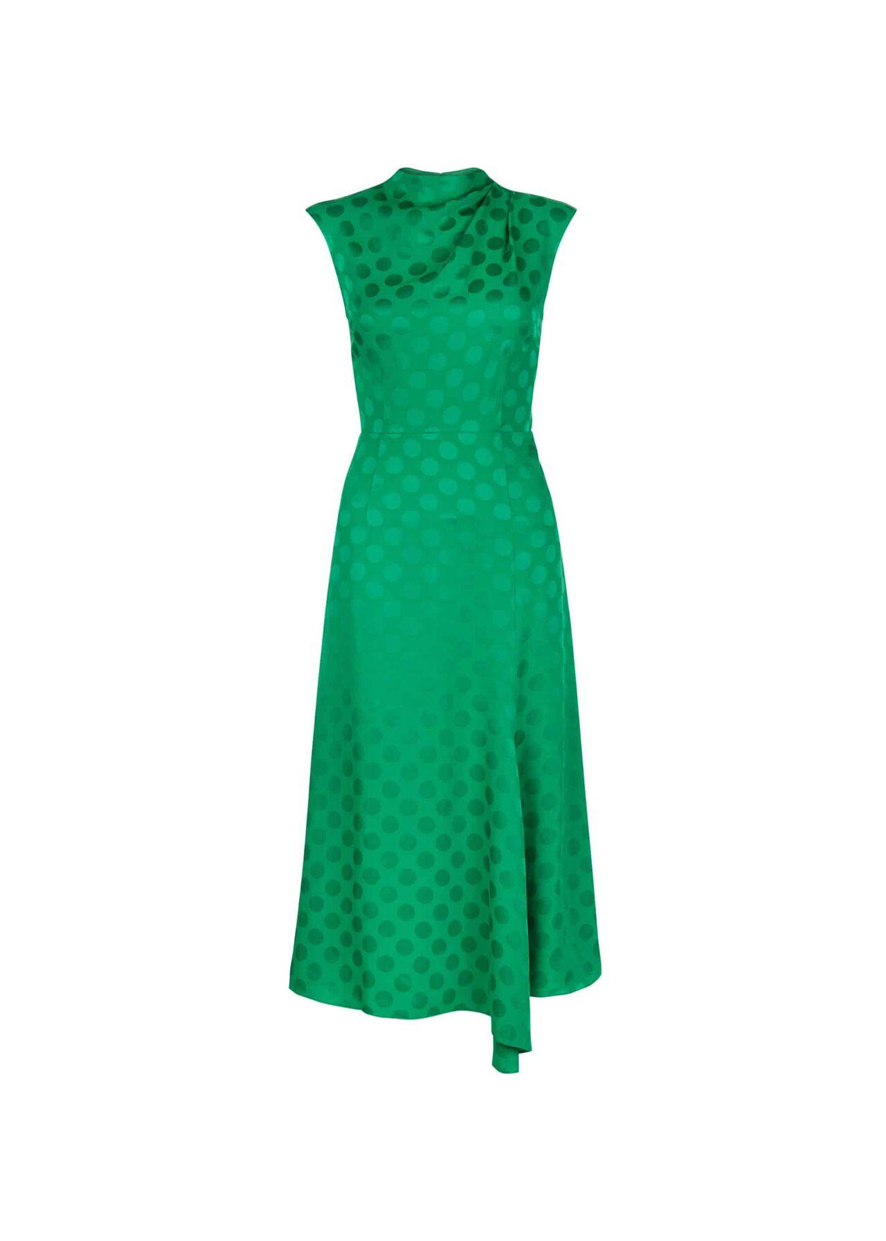 Marina Dress Apple Green
