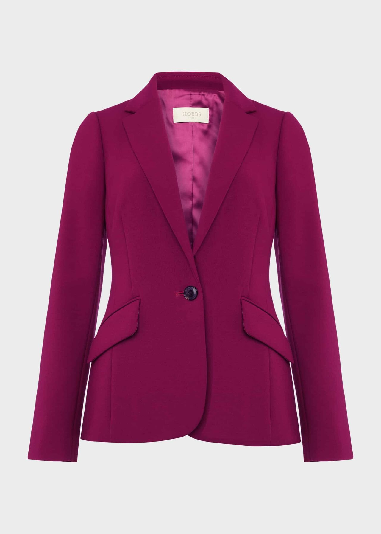 Suki Blazer With Stretch, Magenta, hi-res