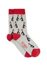Penguin Sock, Grey, hi-res