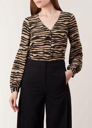 Madeline Shirt, Black Neutral, hi-res