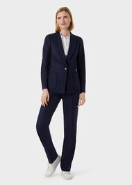 Martina Blazer, Navy, hi-res