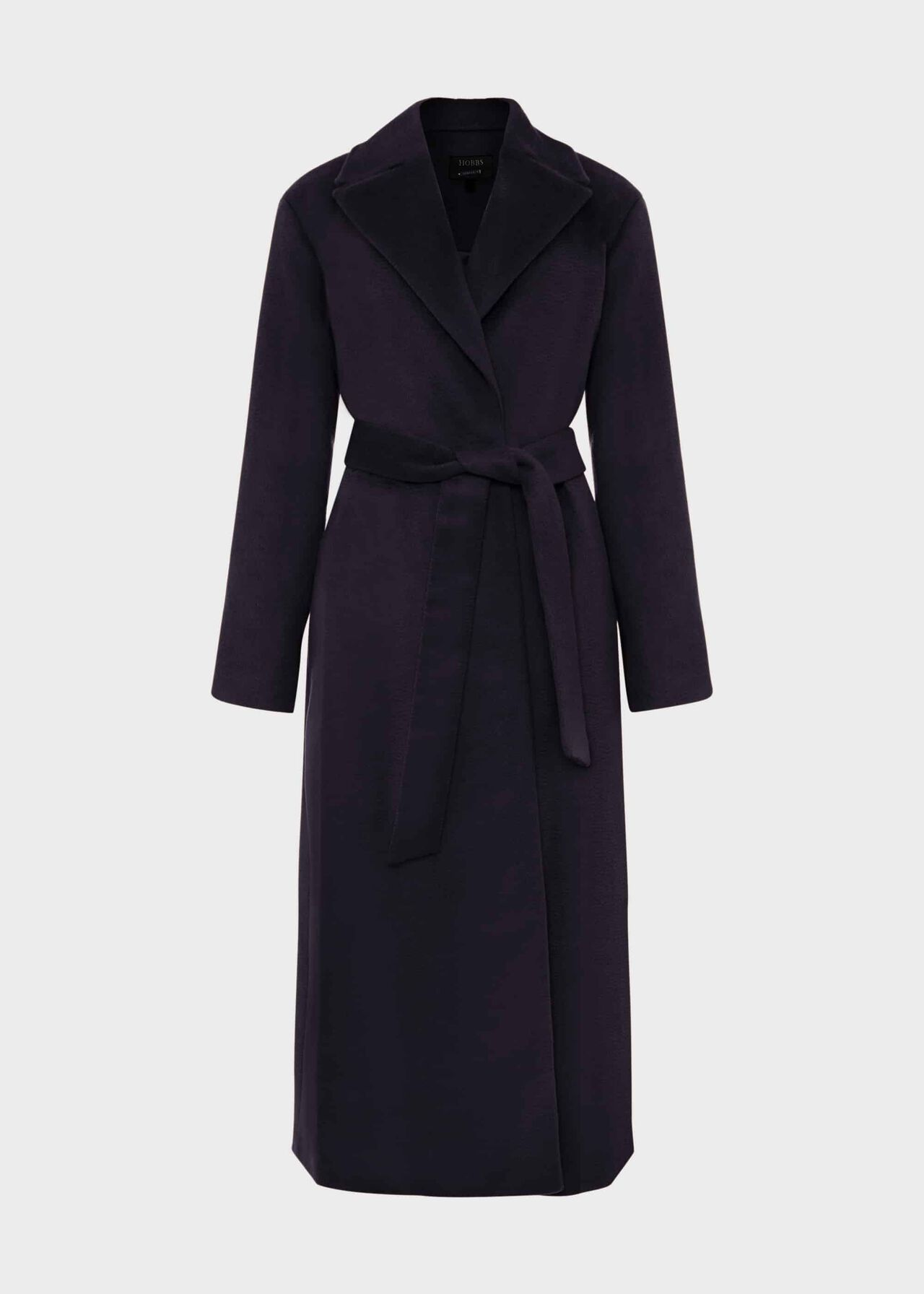 Rene Wrap Coat Navy