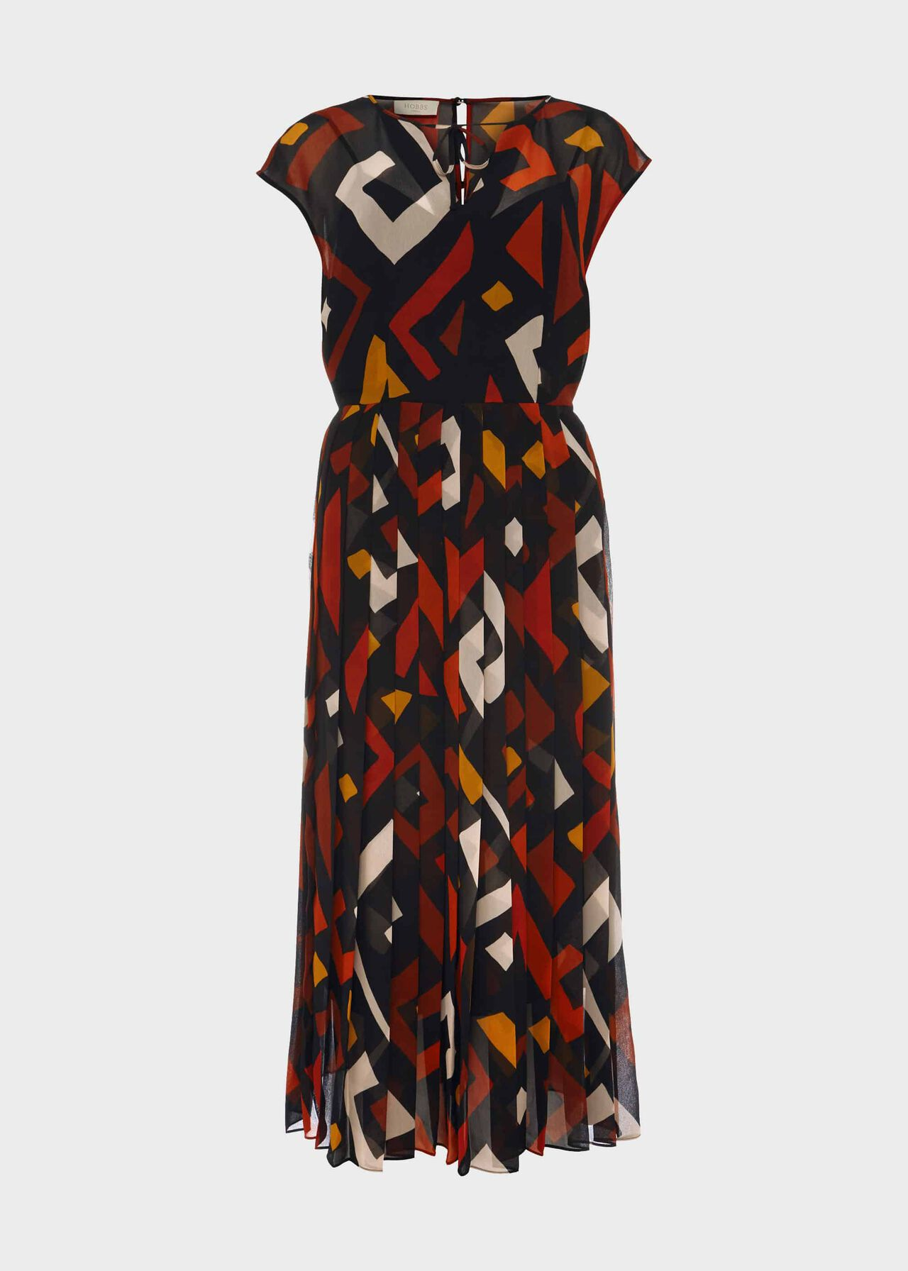 Arianna Printed Midi Dress Multi
