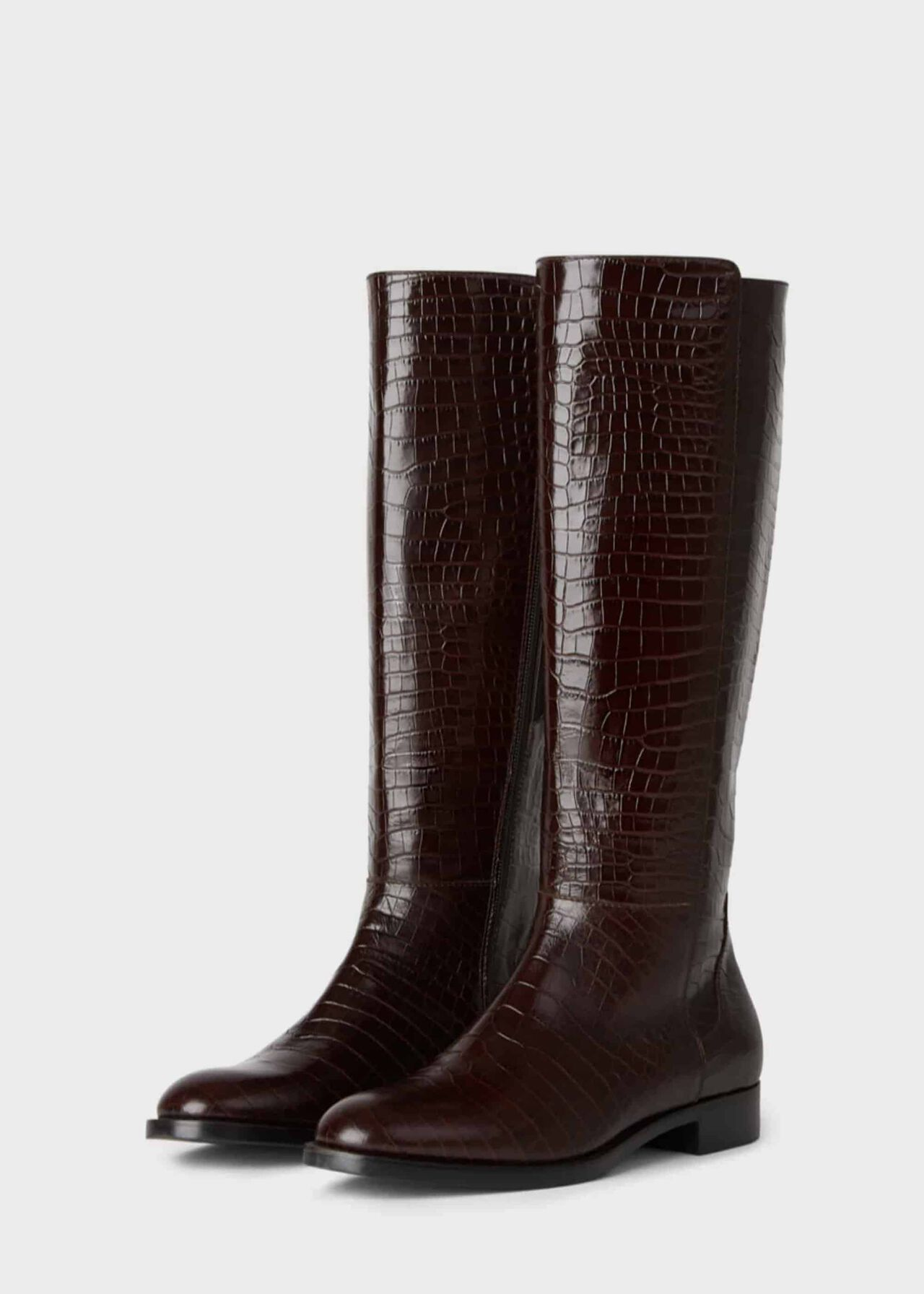 Nicole Long Boot Chocolate