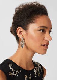 Eve Earring, Gunmetal, hi-res