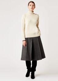 Josie Sweater, Oatmeal, hi-res