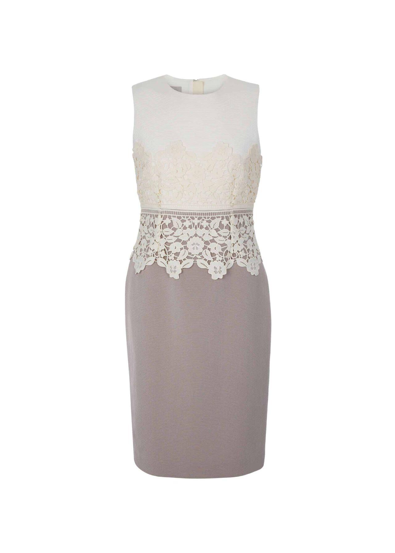 Seraphina Dress Cream Latte