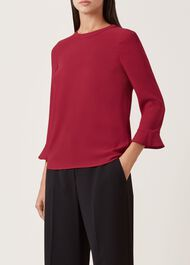 Venetia Top, Berry Red, hi-res