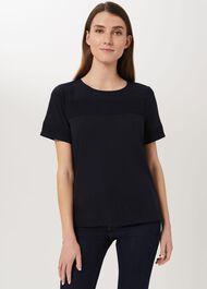Lily T-Shirt, Navy, hi-res