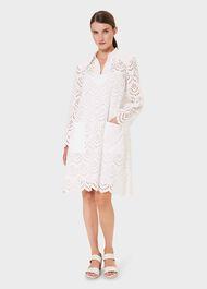 Alexandria Dress, White, hi-res