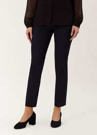Annie Trouser With Stretch, Navy, hi-res