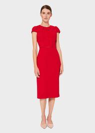 Joan Shift Dress, Poppy Red, hi-res