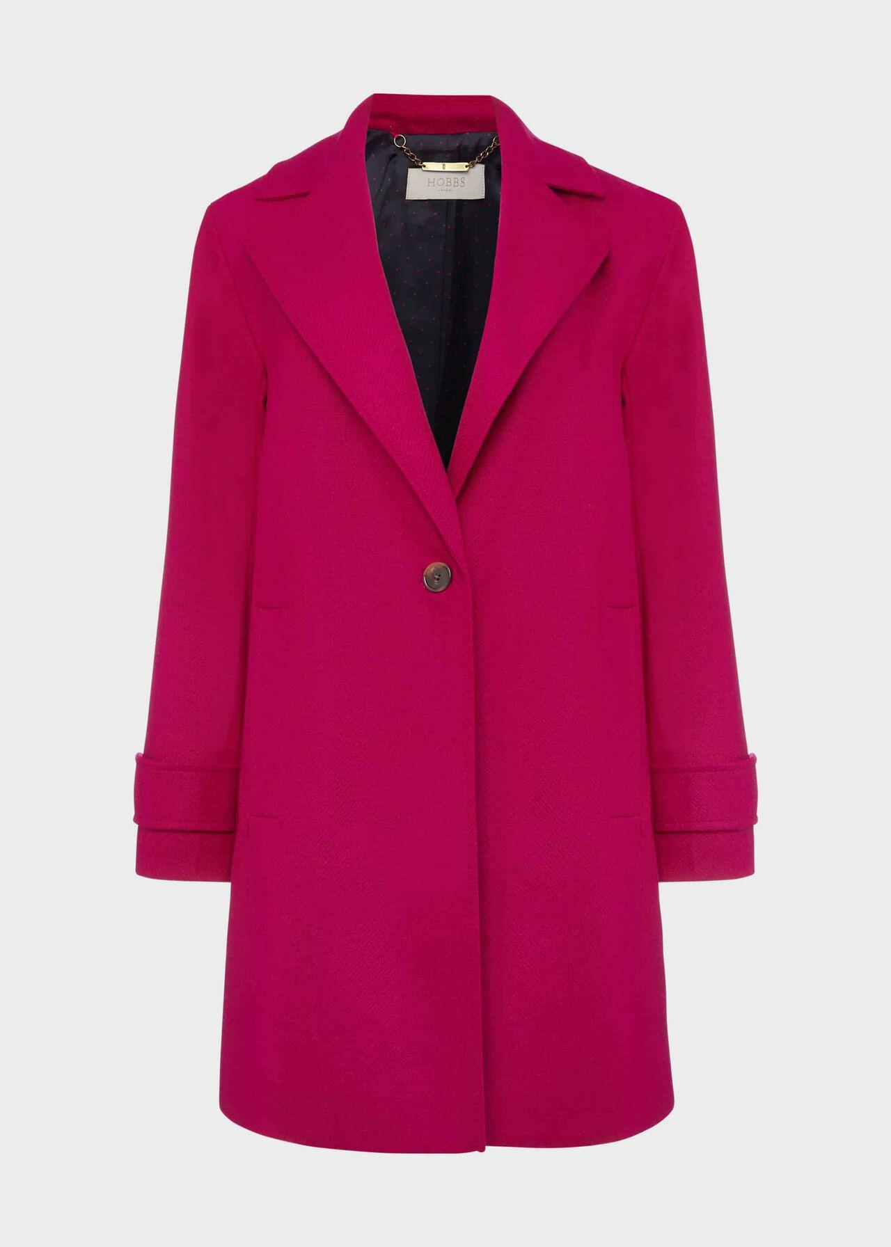 Cynthia Wool Coat Pink