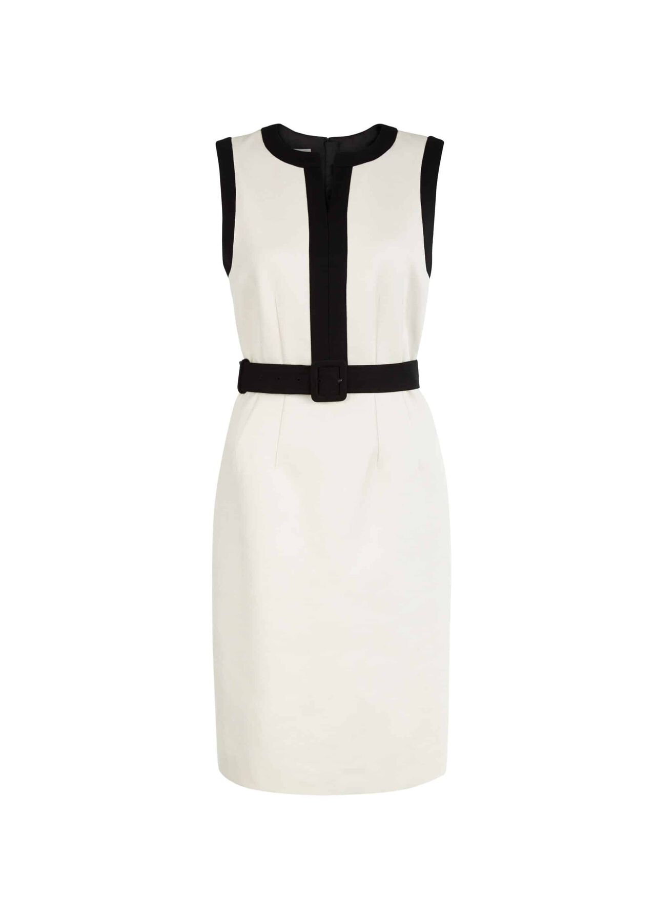 Alison Dress Neutral Black
