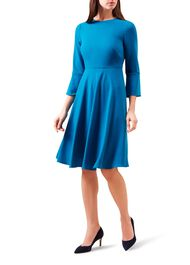 Samantha Dress, Teal, hi-res