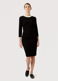 Petite Alva Skirt, Black, hi-res