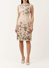 Fiona Dress, Pale Pink Multi, hi-res