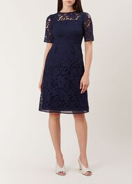 Mandy Dress, French Navy, hi-res