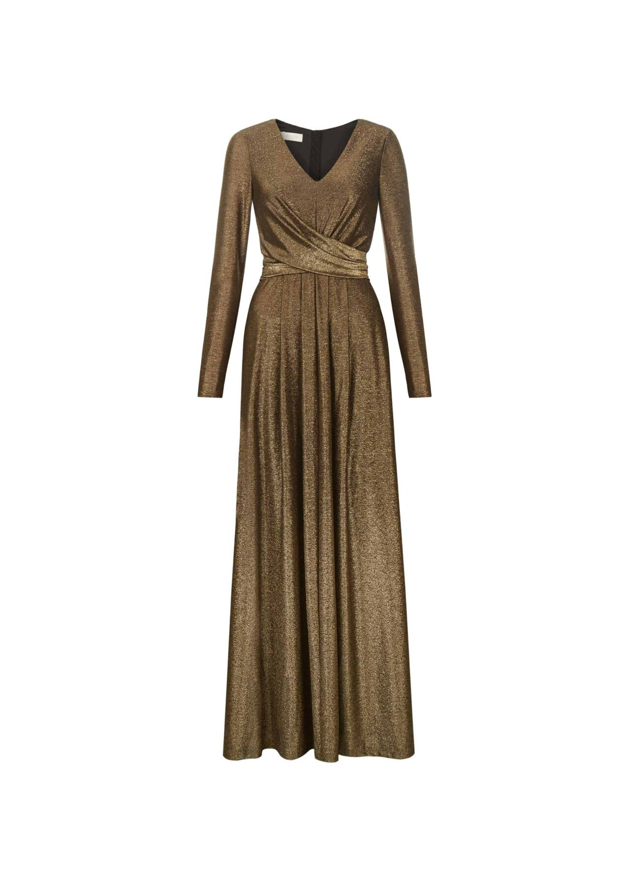 Charlize Maxi Dress Gold