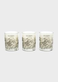 Hampstead Candle Set, White, hi-res