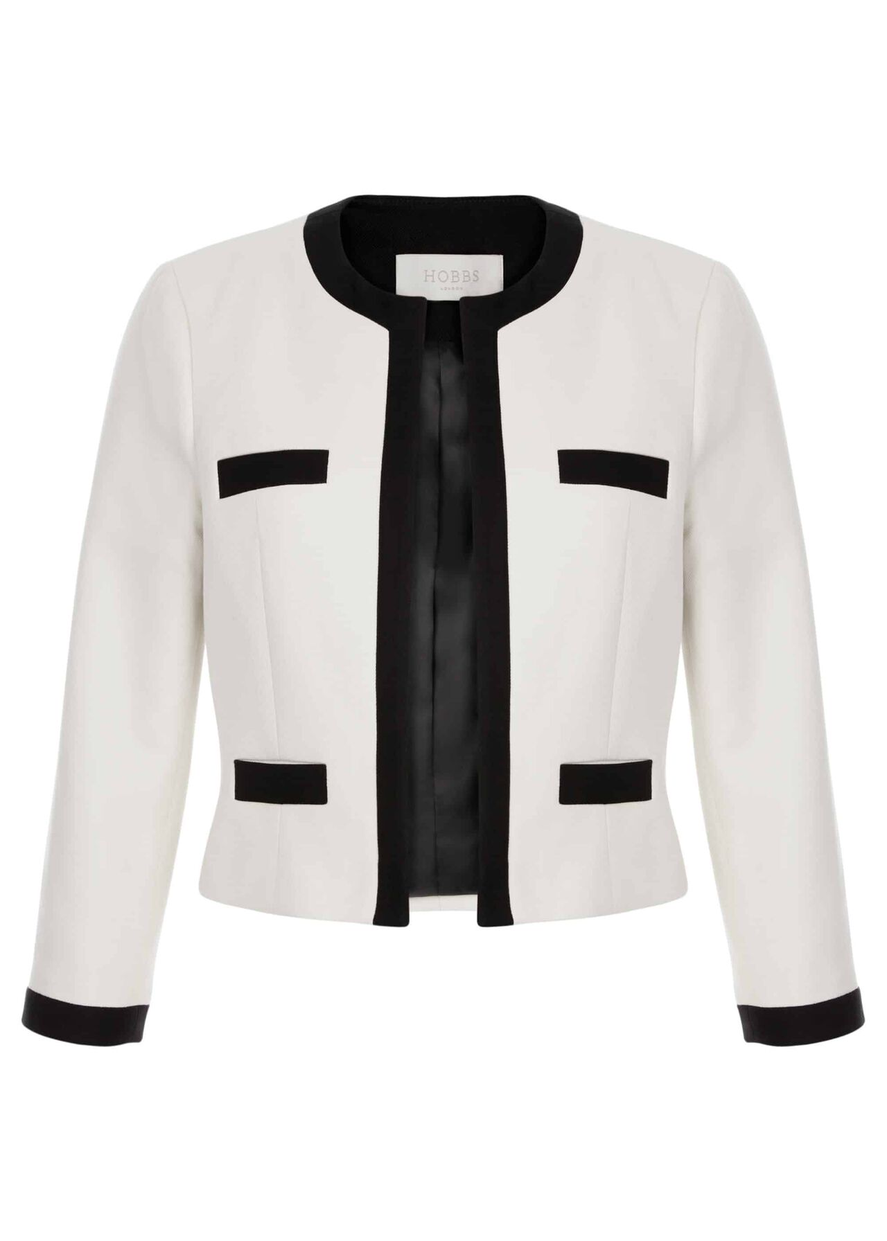 Alison Jacket Neutral Black