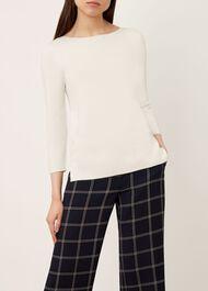 Cesci Sweater, Ivory, hi-res