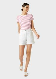Chessie Shorts, White, hi-res