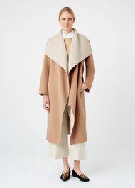 Odelia Double Face Wool Blend Coat, Camel, hi-res