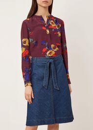 Tori Skirt, Blue, hi-res