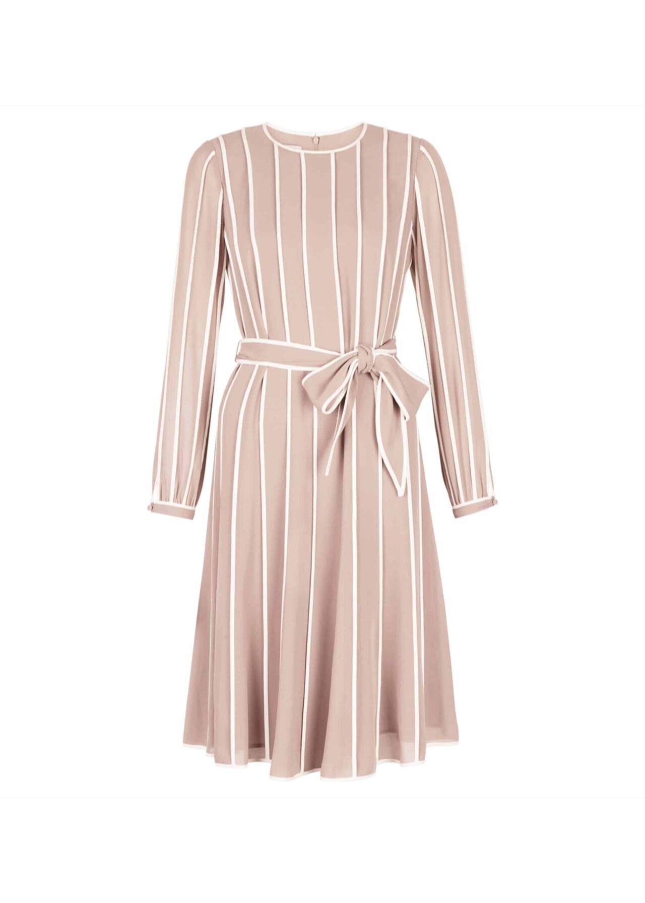 Rosemond Dress Porcini Ivory