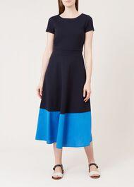 Helenora Dress, Navy Sapphire, hi-res