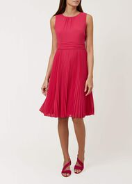 Meera Dress, Raspberry Pink, hi-res