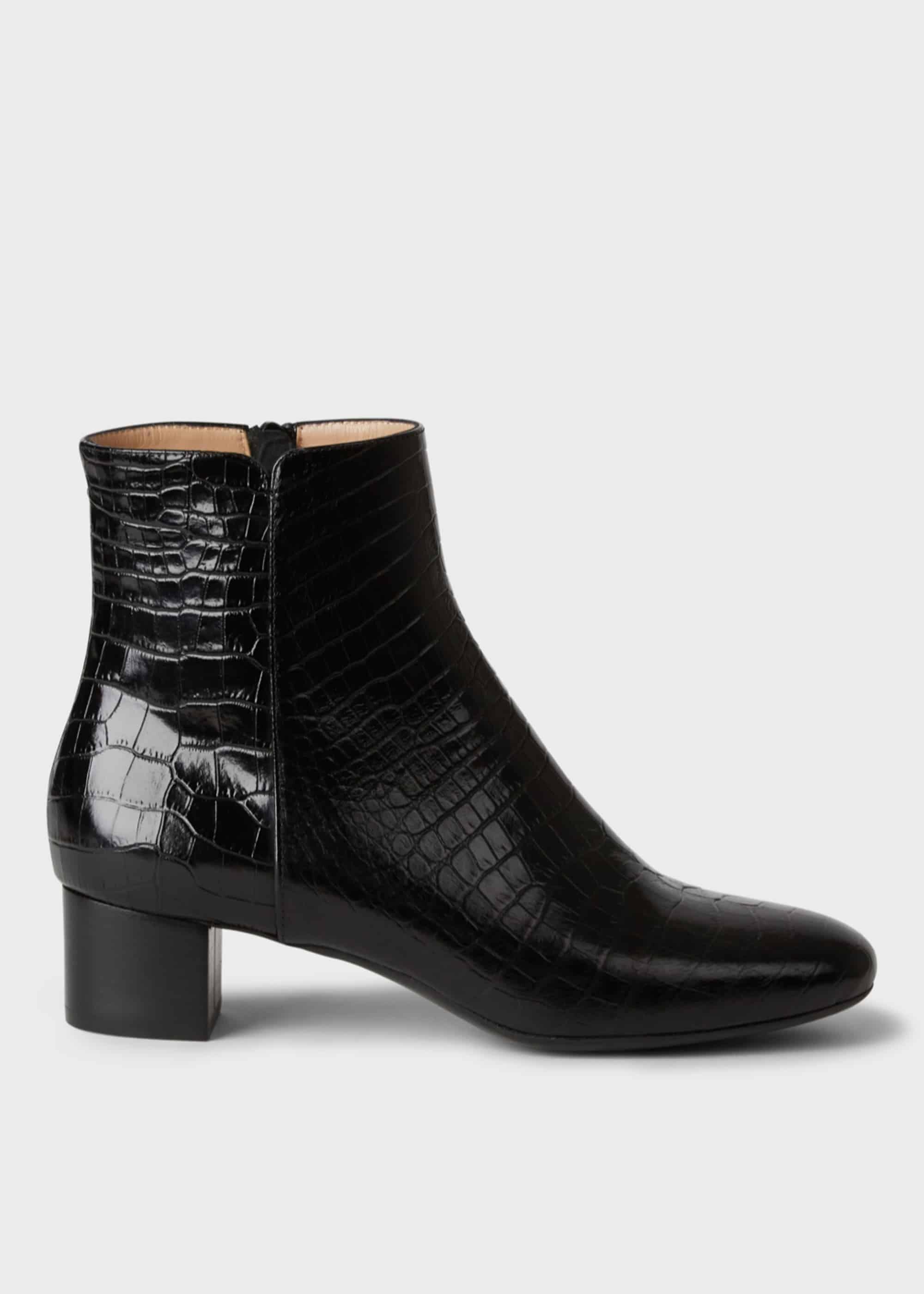 block heel chelsea boots black