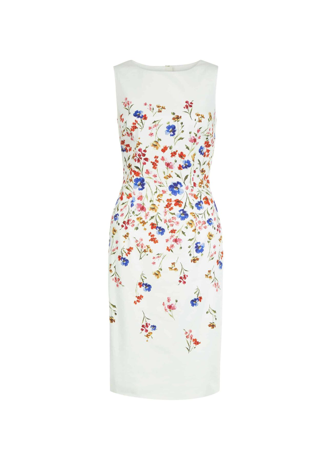 Fiona Dress Ivory Multi