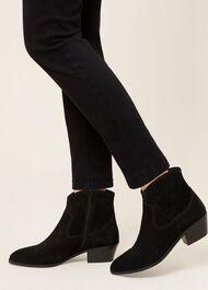 Linden Cuban Boot, Black, hi-res