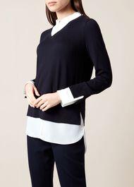 Macy Sweater, Navy, hi-res
